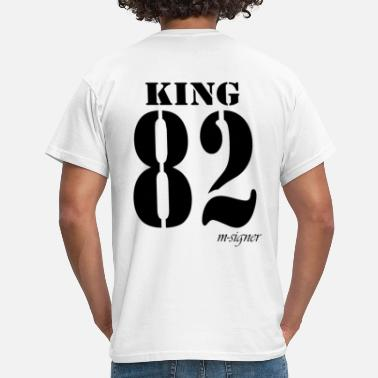 King En Queen KING - Mannen T-shirt