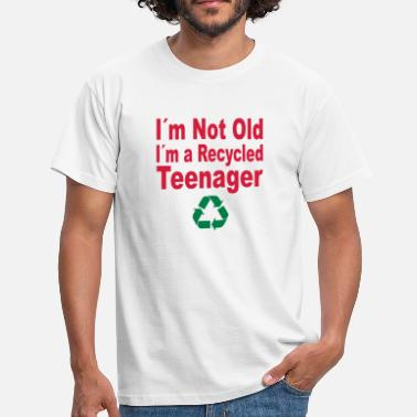 Stupid Old not old - Men's T-Shirt