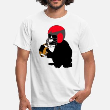 Affengeil football monkey - Männer T-Shirt