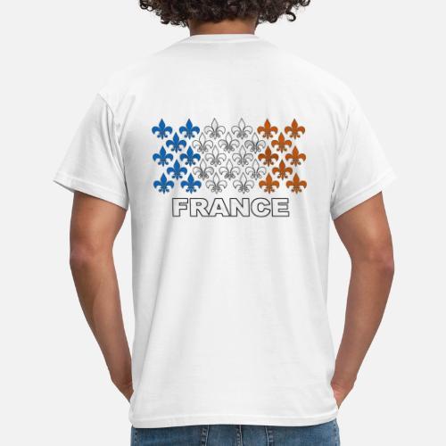 c33b45a8f2196 France fleurs de lys T-shirt Homme   Spreadshirt