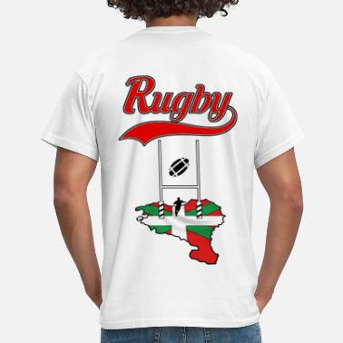 Rugbyr rugby basque - T-shirt Homme