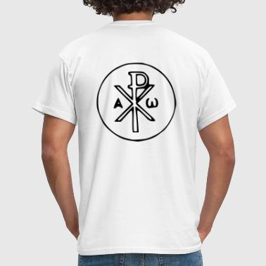 Jesus - Chi-Rho - Men's T-Shirt
