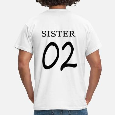 Bff Sisters Sister 02 Print / BFF Forever - T-shirt Homme