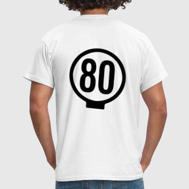 80-lätkä - kasikympin lätkä - Miesten t-paita 86fc651f8e