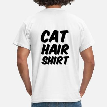 cat hair shirt - Männer T-Shirt