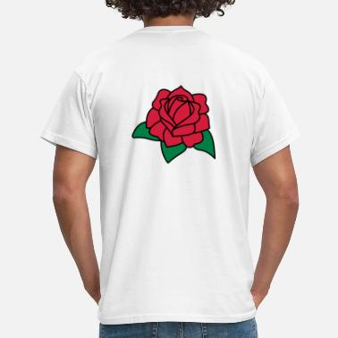 Tudor Red Rose 3c - Men's T-Shirt