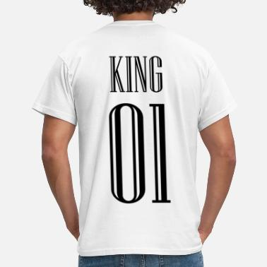 King Queen KING QUEEN partner shirt - Herre-T-shirt