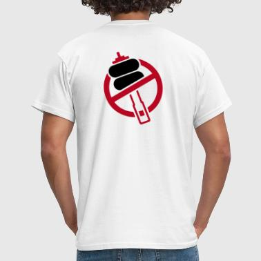NO FUCKING AIRRIDE - Men's T-Shirt