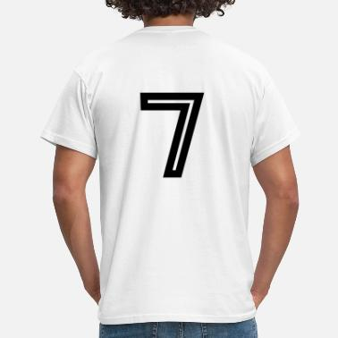 Number 7 Lucky Number 7 - Men's T-Shirt