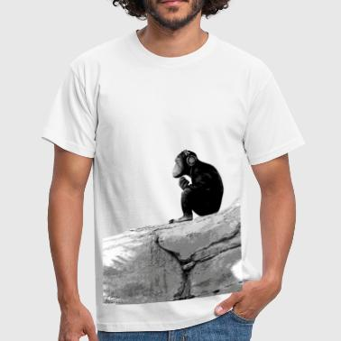 Music Monkey - Men's T-Shirt