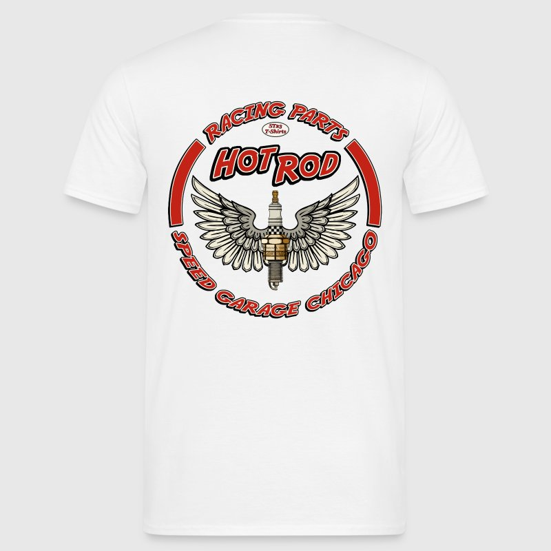 Hot Rod racing parts - T-shirt herr