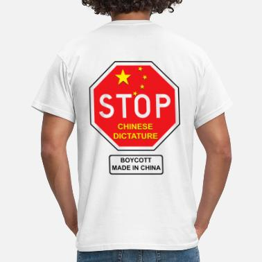 Chinese chinese dictature - T-shirt Homme