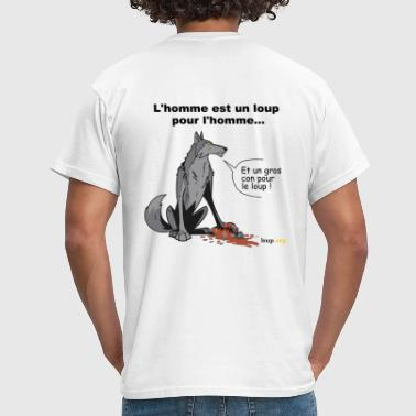 homme-loup - T-shirt Homme