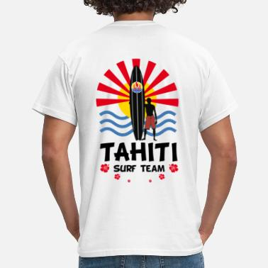 Tahiti Surfer Tahiti surf team - T-shirt Homme