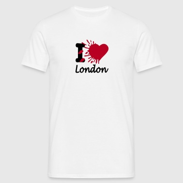 i love london - Männer T-Shirt