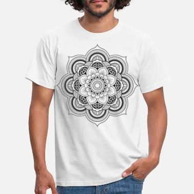Mandala flower - Men's T-Shirt