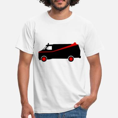 Bad A team GMC Vandura - Men's T-Shirt