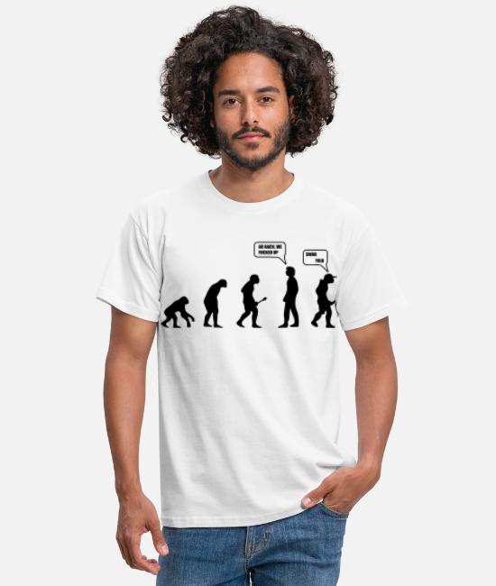 Rugby T-Shirts - Swag Yolo Evolution - Men's T-Shirt white