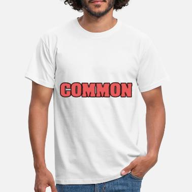 Common common - Men's T-Shirt