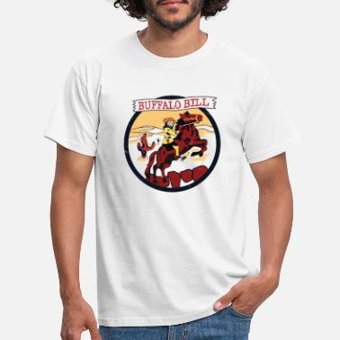 Buffalo Bills Buffalo Bill - Presteversjon - T-skjorte for menn