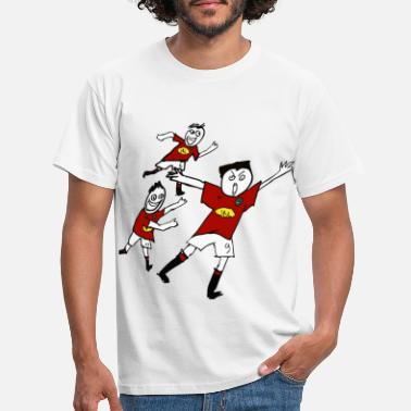 Victorieux team foot anglais - T-shirt Homme