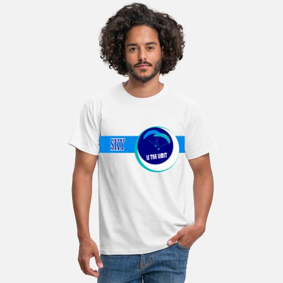 Sky T-shirts - Sky is the limit - T-shirt Homme blanc