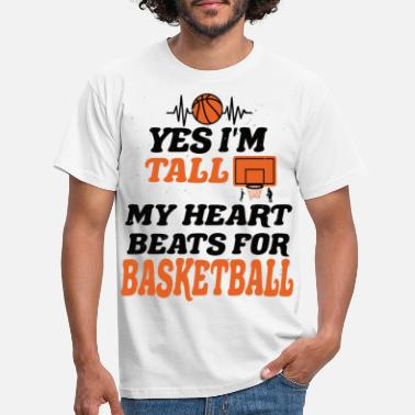 Perfect Basketball big man - Men's T-Shirt
