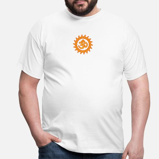 en soldes 4b4a0 7003c om, ohm, omm, om namah shivaya, ॐ, aum T-shirt Homme ...