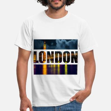 London London - T-shirt herr