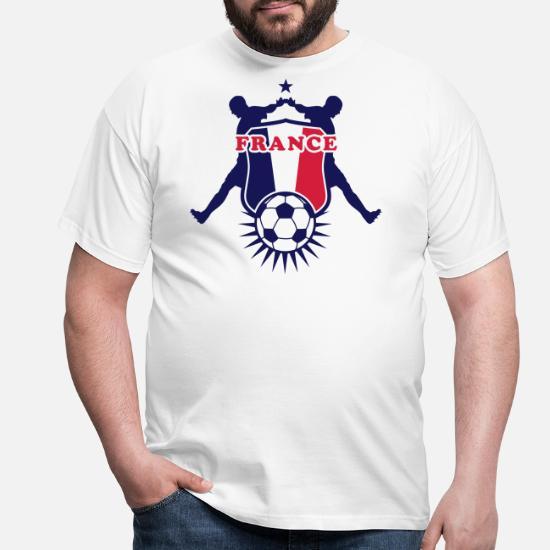 Frankreich Fussball Wappen France Men S T Shirt Spreadshirt