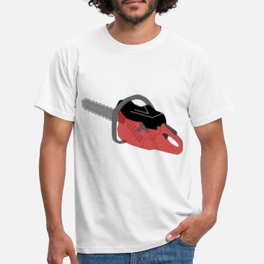 Chain Saw, chainsaw, chainsaw - Men's T-Shirt