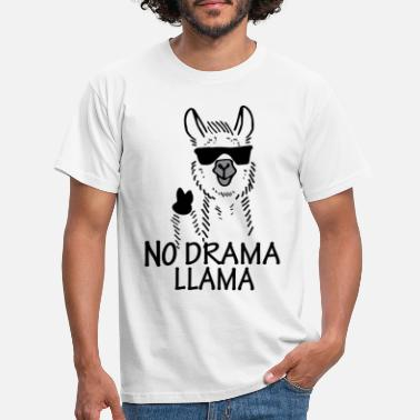 Lama NO DRAMA LAMA - Men's T-Shirt