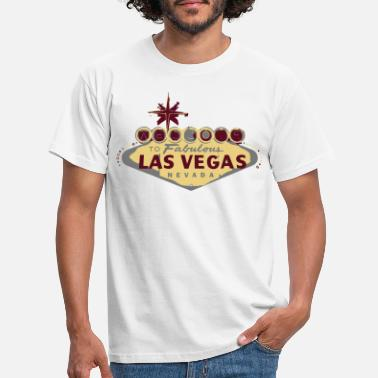 Usa las vegas - Men's T-Shirt