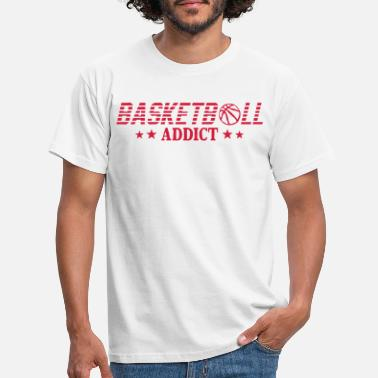 Sport Addict basketball addict balon sport - T-shirt Homme