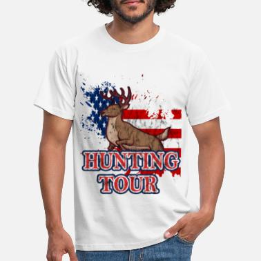 Hunted hunting hunting, - Men's T-Shirt