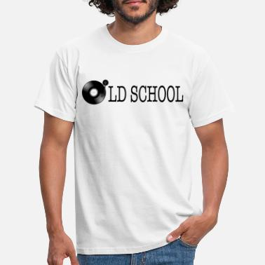 Old School Old school - Mannen T-shirt