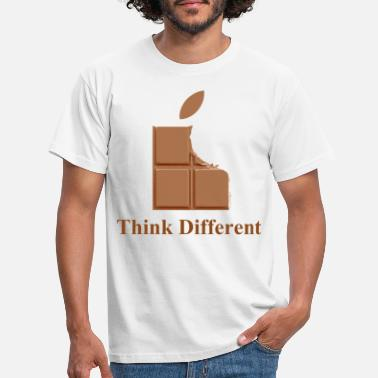 Chocolat Think Chocolate - T-shirt Homme