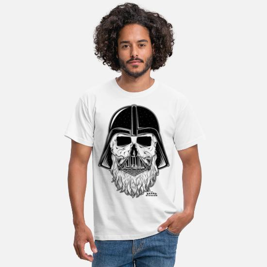 Comics T-shirts - TBD_Darth_Vader_Blk - Mannen T-shirt wit