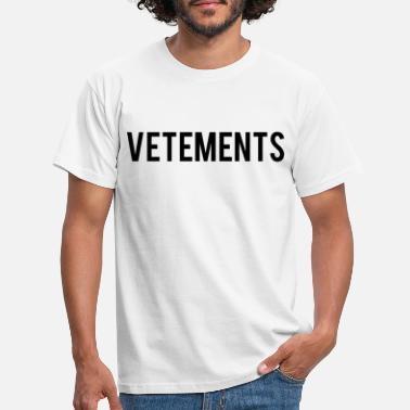 Vetements Vetements Zitat - Männer T-Shirt