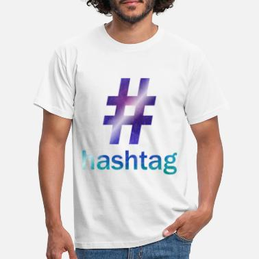 Youtube #hashtag - Männer T-Shirt