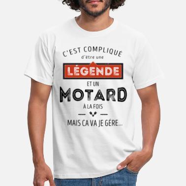 T-shirts motard humour à acheter en ligne | Spreadshirt