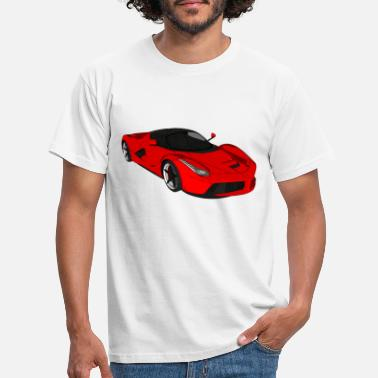 Race Car Sports car sports car racing car convertible - Men's T-Shirt