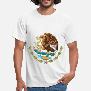 Mexiko mexico_coat_of_arms - Männer T-Shirt