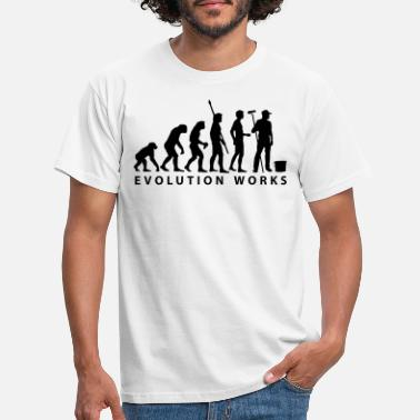 Lärling evolution_maler_b_2 - T-shirt herr