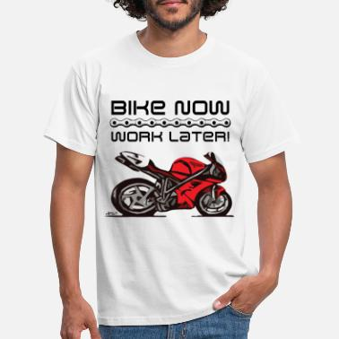 Desmo Superbike comic-style - Men's T-Shirt