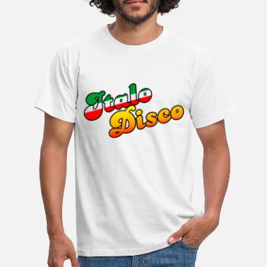 80s ITALO DISCO MUSIC - T-shirt Homme