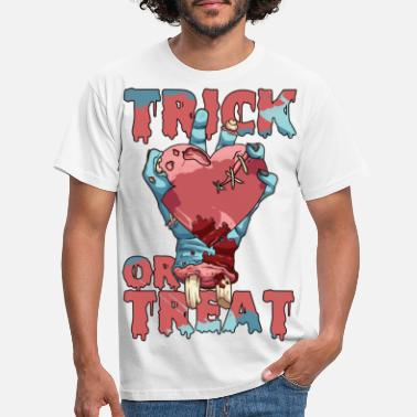 Gruselig Trick or Treat - Männer T-Shirt