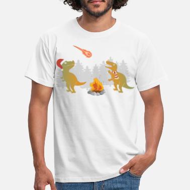 Christmas Merry Extinction - Men's T-Shirt