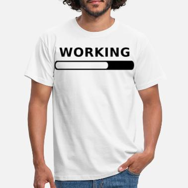 Working Working Progress - T-shirt Homme