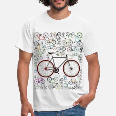 Cycling Love Fixie Road Bike - Men's T-Shirt
